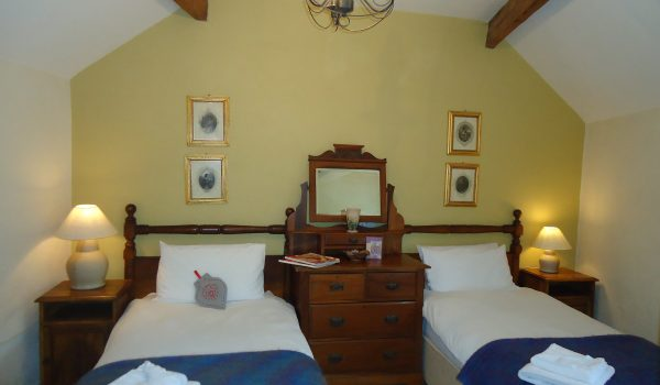 Gaskins Grove Cottage Twin Bedroom